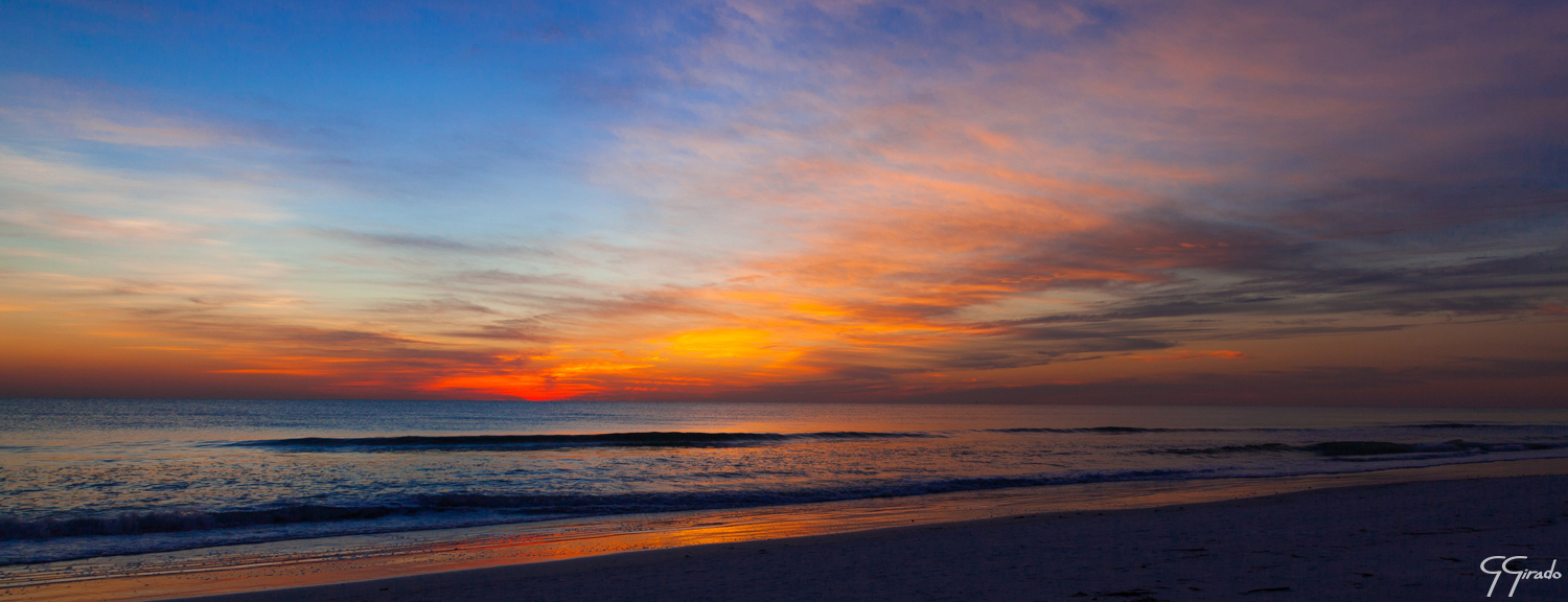 Siesta Key Pano Photo