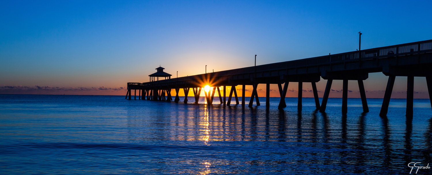 Deerfield Beach Pier Pano Photo